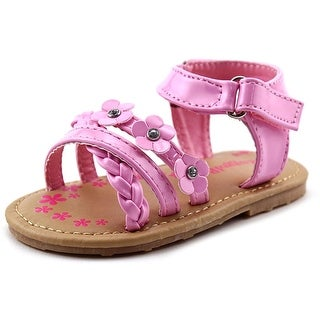 Rugged Bear Floral Sandal Toddler Open Toe Synthetic Sandals