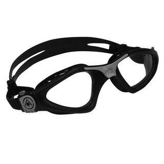 Aqua Sphere Kayenne Clear Lens Swim Goggles - Black/Silver