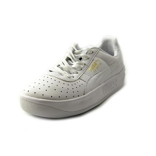 Puma GV Special Jr Round Toe Leather Sneakers