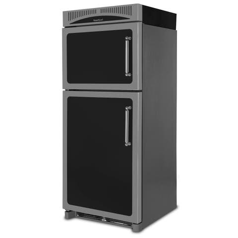 """Heartland HCTMR20L 30"""" Wide 20.4 Cu. Ft. Energy Star Rated Top Mount Refrigerator with Disappearing Shelf"""