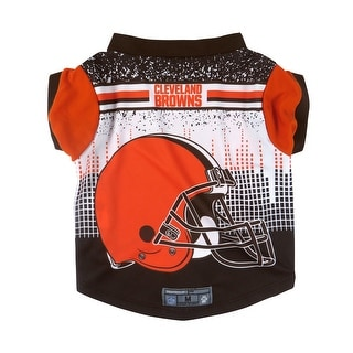 Cleveland Browns Pet Performance Tee Shirt Size XS