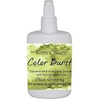 Ken Oliver Color Burst Powder 6Gm-Olive Green