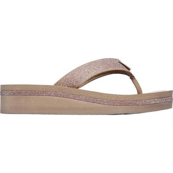 Shop Skechers Women's Vinyasa Unicorn Mist Thong Sandal
