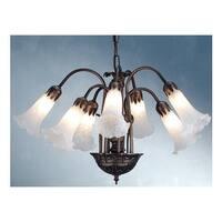 Meyda Tiffany 11621 Seven Light Down Lighting Chandelier