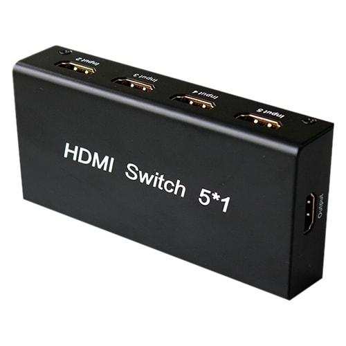 4XEM 4XHDMISW5X1 4XEM 5 Port HDMI Switch - 1920 x 1080 - Full HD - 5 x 1 - 1 x HDMI Out