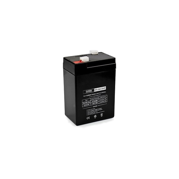 Replacement AGM SLA Battery 6V-5Ah (Single Pack) Replacement AGM SLA Battery