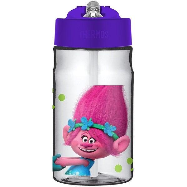 Thermos Girls Trolls Straw Bottle