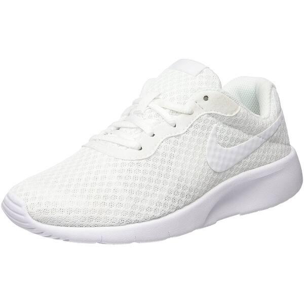ostaa suosittuja online jälleenmyyjä online jälleenmyyjä Shop Nike Youth Tanjun White Mesh Trainers 35.5 EU - white ...