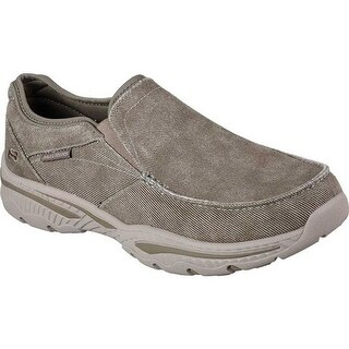 Skechers Men's Relaxed Fit Creston Moseco Loafer Taupe