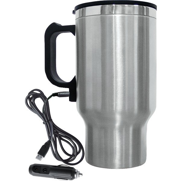 Brentwood Cmb-16C Electric Coffee Mug W/Wire Car Plug