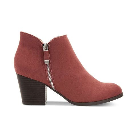 Style & Co. Womens Masrinaa Ankle Fashion Boots