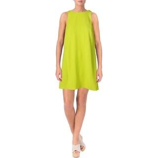 Lauren Ralph Lauren Womens Casual Dress Crepe Pockets