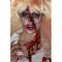Smiffy Zombie Nurse Make-Up Kit - Multi