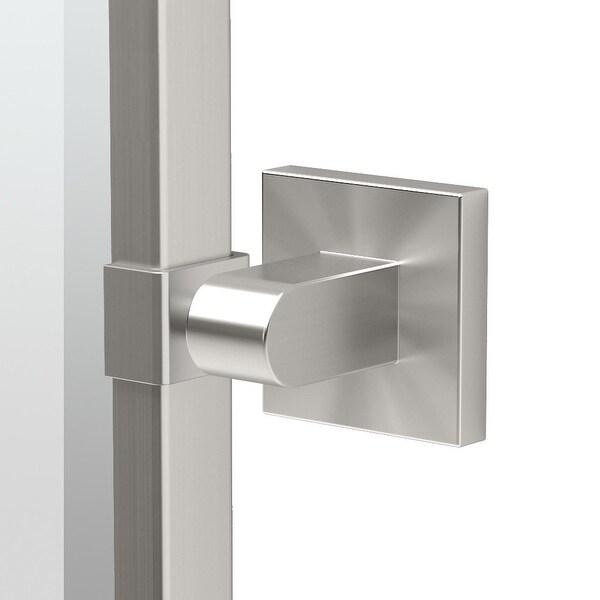"Gatco 4079FS Elevate 27-2/3""W X 32-1/2""H Wall-Mounted Framed Rectangular Mirror - Satin Nickel"