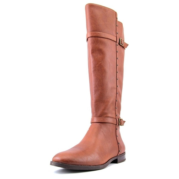 INC International Concepts Ameliee Women Cognac Boots