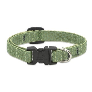 """Lupine 36734 ECO Adjustable Collar for Small Dogs, Moss Pattern, 1/2"""" x 8-12"""""""