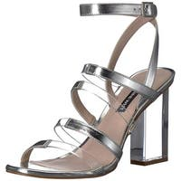 Nine West Women's Fazzani Synthetic Heeled Sandal - 7.5