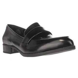 Nine West Nextome Slip-on Loafers, Black/Black