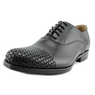 Kenneth Cole NY Plan Ahead Men Round Toe Leather Gray Oxford