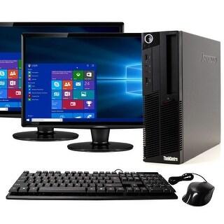 Lenovo M90 Intel  i5 16GB 1TB HDD Windows 10 Home WiFi Desktop PC - Black