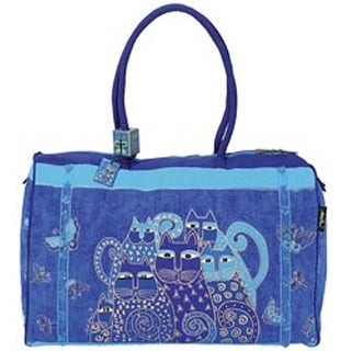 "Indigo Cats - Travel Bag 21""X9""X14"""