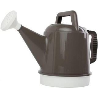 Bloem DWC2-60 Deluxe Watering Can 2.5 Gallon, Peppercorn