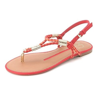 New Directions Women's Fame Flat Thong Sandals