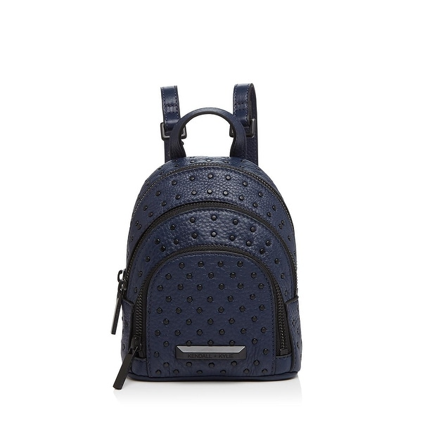 Shop Kendall + Kylie Womens Sloane Backpack Leather Studded - Free ... 2f80fbca42a81