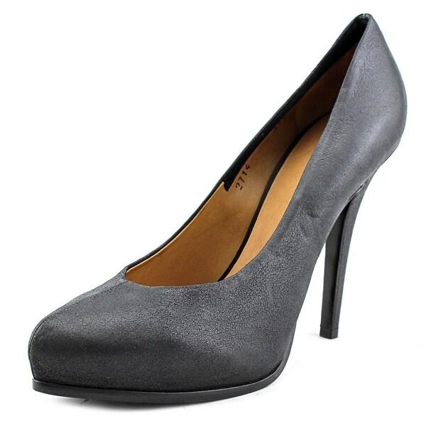 Premiata Vegas Women Pointed Toe Leather Black Heels