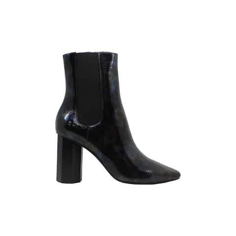 Donald J Pliner Womens Laila Suede Square Toe Ankle Fashion Boots