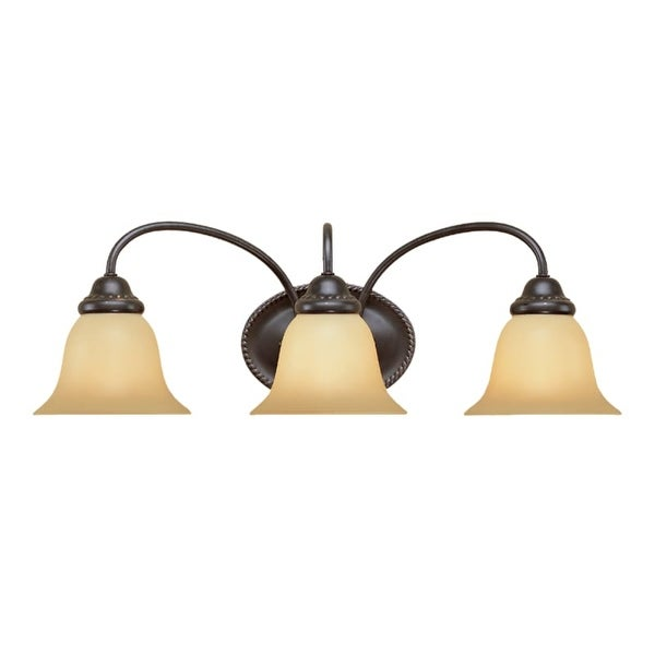 Superieur Millennium Lighting 4013 3 Light Bathroom Vanity Light   Colonial Bronze