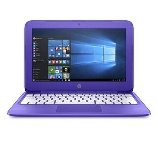 "Manufacturer Refurbished - HP Stream 11-Y023CA 11.6"" Laptop Intel Celeron N3060 1.6GHz 4GB 32GB eMMC Win10"