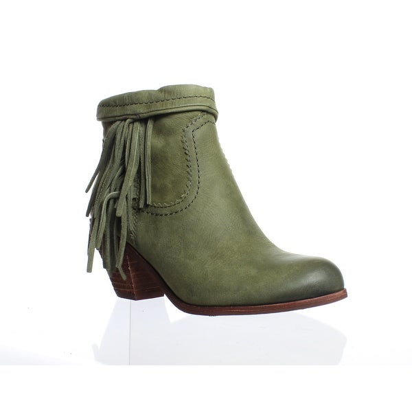3daf23039 Shop Sam Edelman Womens A4863lw-301 Green Ankle Boots Size 5.5 ...