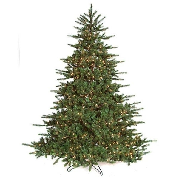 Autograph Foliages C-130901 7.5 ft. Asheville Spruce Tree Green