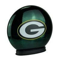 Green Bay Packers Indoor LED Glass Globe Accent Lamp - Dark Green