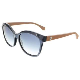 Fendi FF0043S 0MHH Pearl Navy/Caramel Cat Eye sunglasses