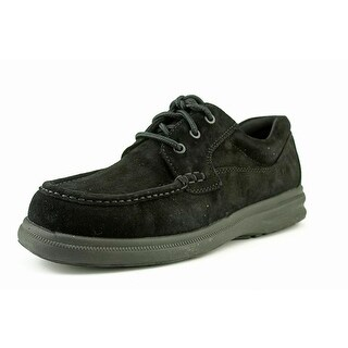 Hush Puppies Gus Round Toe Leather Oxford