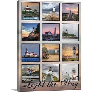 """Light the Way"" Canvas Wall Art"