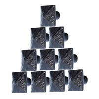 10 Cabinet Knobs Wrought Iron Black Knobs 1 | Renovator's Supply