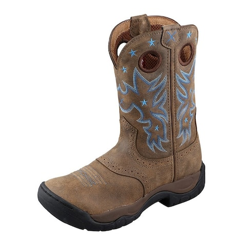 Twisted X Western Boots Womens Cowboy All Around Rubber Bomber