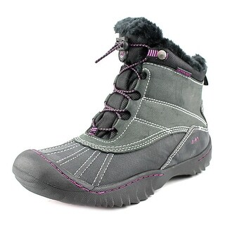 J-41 Christine Women Round Toe Synthetic Winter Boot