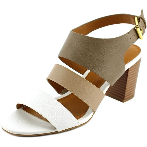 American Living Wakely Women Open-Toe Synthetic White Slingback Sandal
