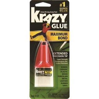 Krazy Glue KG48348MR Maximum Bond Instant Adhesive Glue, 5 Gram