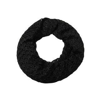 Lauren Ralph Lauren Women's Metallic Crochet Infinity Scarf - os