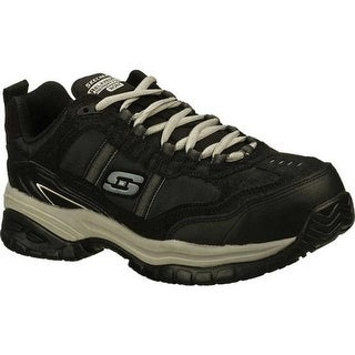 Skechers Men's Work Relaxed Fit Soft Stride Grinnell CT Boot Black/Gray