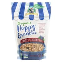 11 oz Organic Happy Granola Sprouted Blueberry Flax - Case of 6