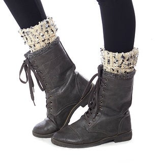 Arctic Ankles Sweater Knit Leg Warmer Boot Cuffs