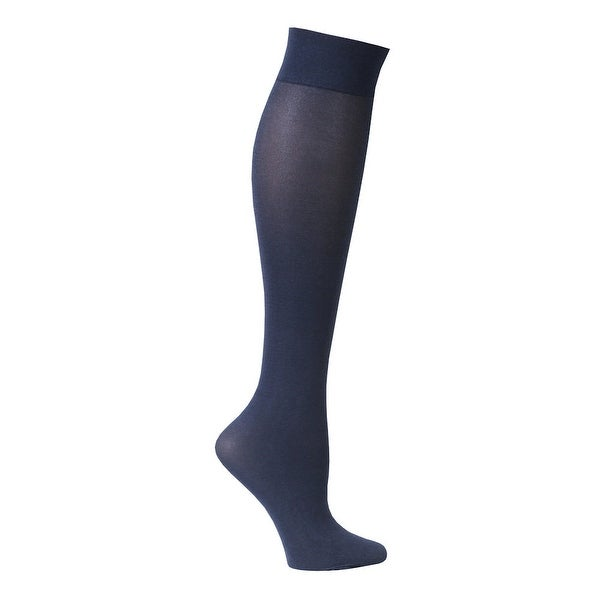 Women's Diamond Compression Regular Calf Socks - Mild 8-15 mmHg