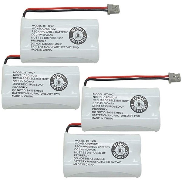 Replacement BT1007 (TL26602) Battery For Uniden DECT1340 / DECT1580 Phone Models (4 Pack)