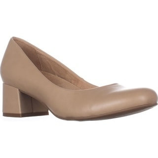 naturalizer Donelle Kitten Heel Classic Pumps, Tender Taupe